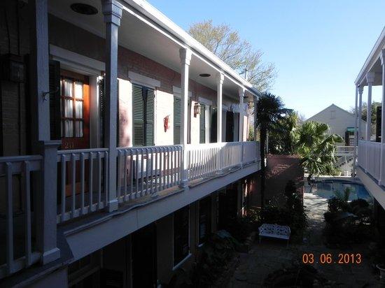 Lamothe House Hotel: 2nd floor area