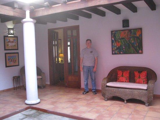 Casa de los Milagros B&B: Indoor patio
