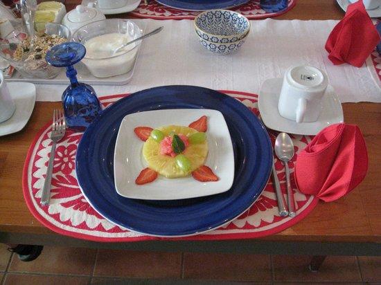 Casa de los Milagros B&B: breakfast