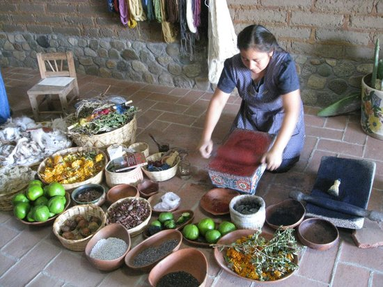 Casa de los Milagros B&B: Making Natural Dyes