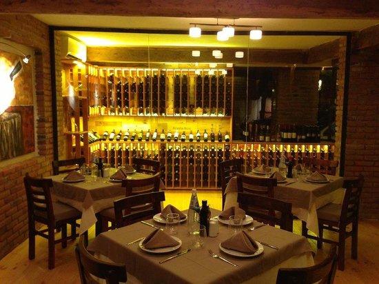La Macelleria -  The Butcher Shop: sala con aire acondicionado