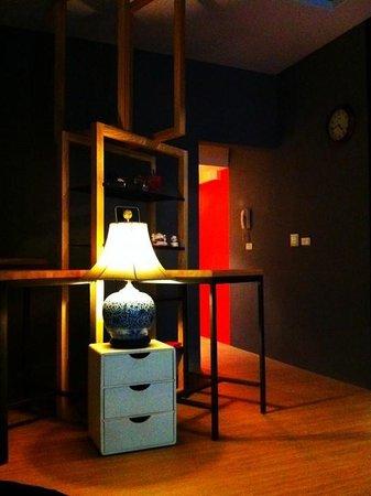Bucci Hostel: 入口的設計