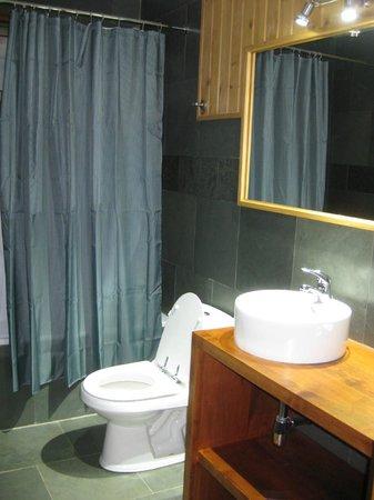 Hotel & Spa Araucarias : baño pieza