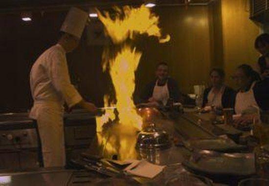 The Westin Miyako Kyoto: 鉄板焼きレストラン「くぬぎ」