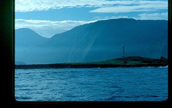 Na Pali Coast : Flashing Lighthouse on Kalaupapa Peninsula