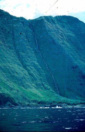 Na Pali Coast: Papalauea Waterfall