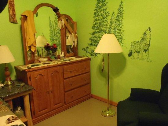 Kettle Creek Adventures Lodge and B&B: bunk bedroom