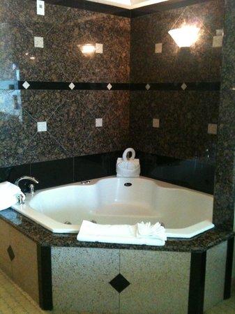 Radisson Hotel Orlando - Lake Buena Vista: whirpooll tub