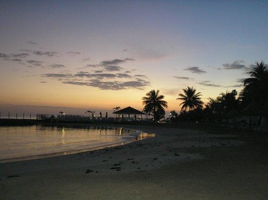 Royal Decameron Club Caribbean: Morning sunrise.