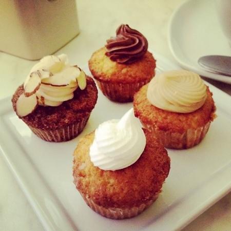 Zacatelimon: mini cupcake