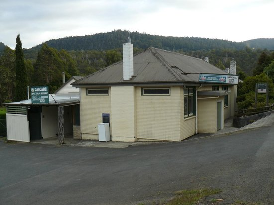 National Park Hotel : View from car park
