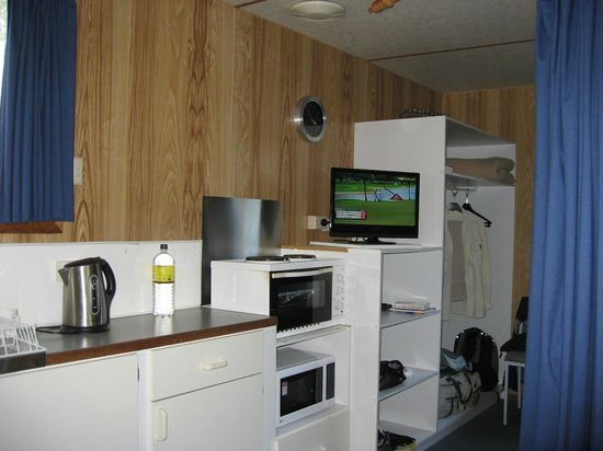Discovery Parks - Cradle Mountain: Kitchenette