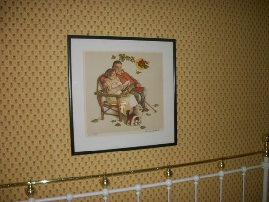 The Red Lion Inn: Signed Norman Rockwell. Awesome!