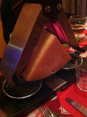 Chez Clarisse : raclette