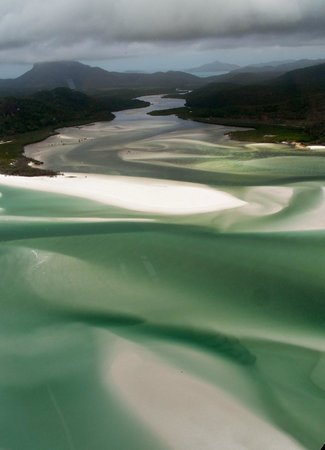 Hill Inlet - aerial view