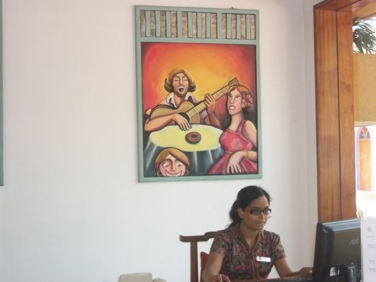 Goa - Villagio, A Sterling Holidays Resort: Roopali on reception