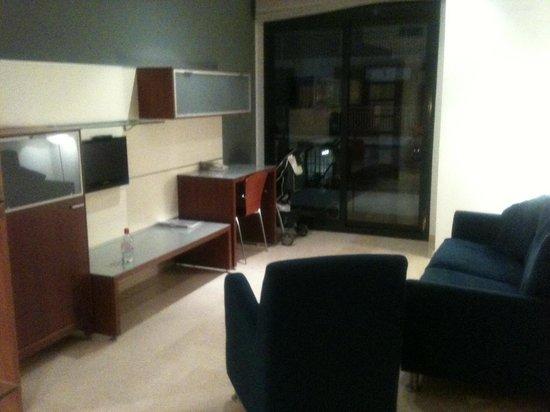 Apartaments Marina: Living room