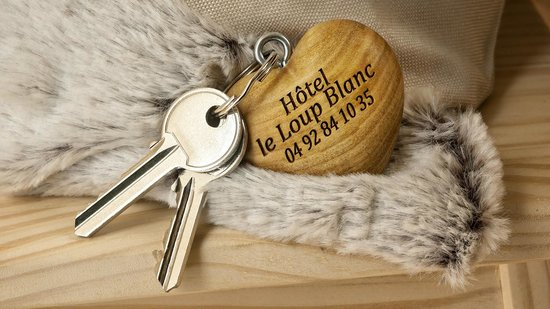 Hotel Le Loup Blanc : clefs