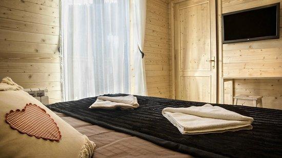 Hotel Le Loup Blanc : chalet