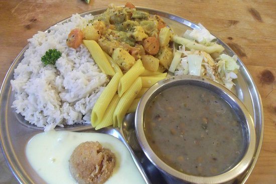 Gopal: awful food, see rice colour and state