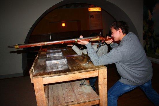 Army Museum: разрешено пострелять