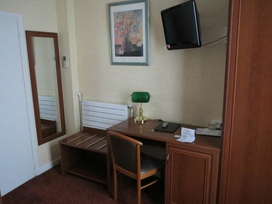 Hotel Terminus Lyon: Single room
