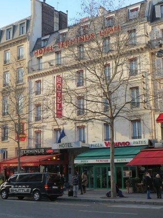 Hotel Terminus Lyon: Hotel exterior