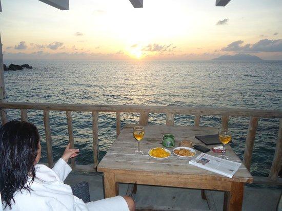 Bliss Hotel Seychelles: Terrasse de la chambre 3