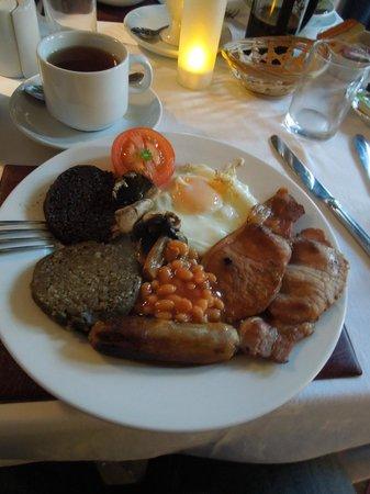 آنيتري جيست هاوس: The breakfast