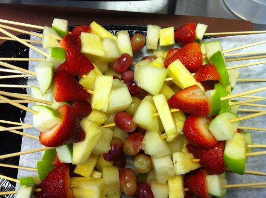 The London Street Sandwich Company: Fresh Fruit Skewers ideal for corporate lunch