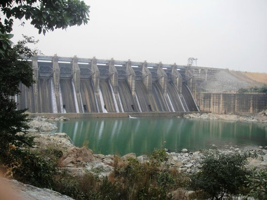 Dhanbad, Indien: The dam