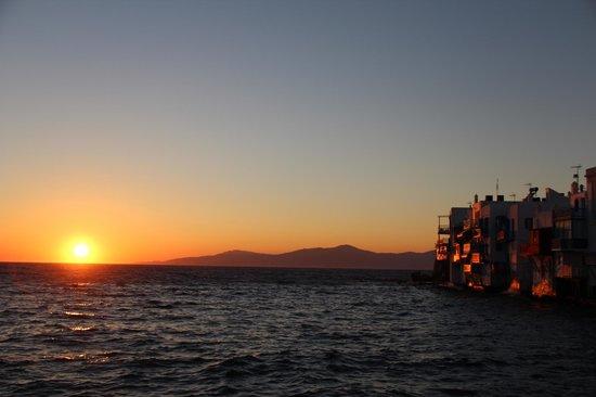 Little Venice: Sonnenuntergang
