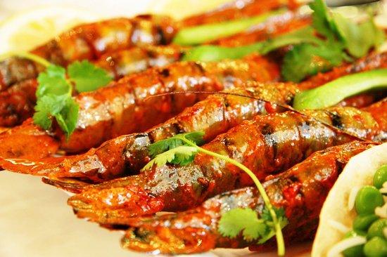 De'Ma. Restaurant: Grilled prawns