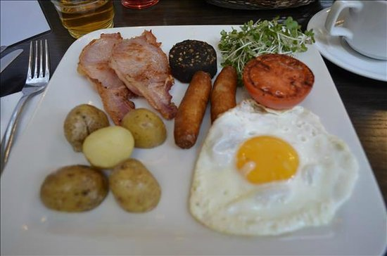 "Hotel Isaacs Cork : ""Full Irish"" Ontbijt in Greenes Restaurant"