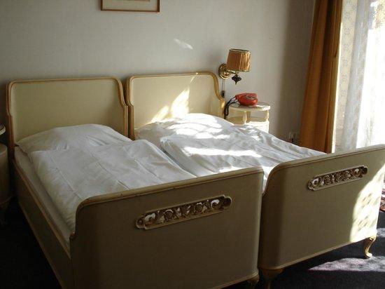 Hotel Evropa : letti bomboniere