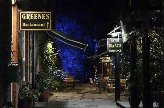 Hotel Isaacs Cork : Binnenplein