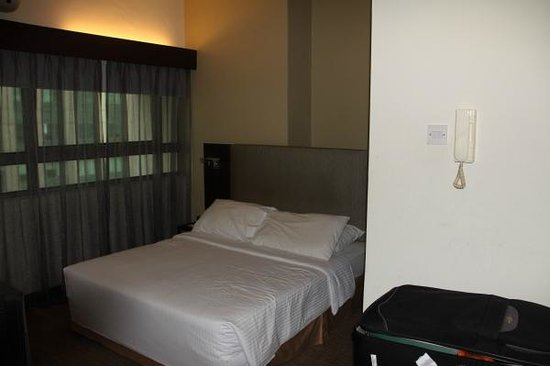 Crown Regency Serviced Suites: Sleeping area
