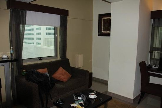 Crown Regency Serviced Suites: View from living area