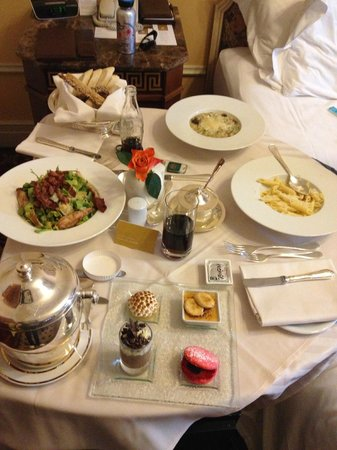 Hotel Grande Bretagne, A Luxury Collection Hotel: Our in room dining