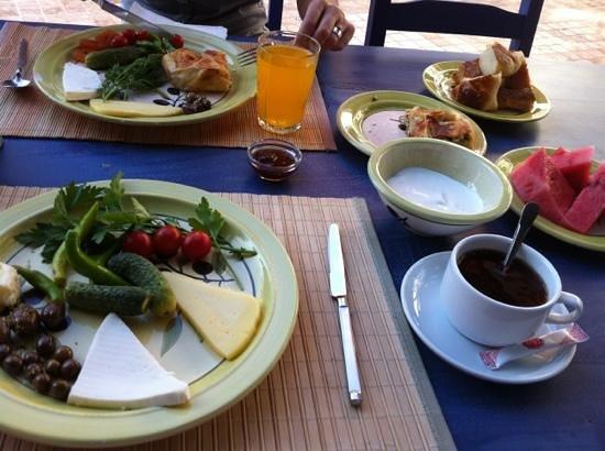 Villa Asina: kahvaltı
