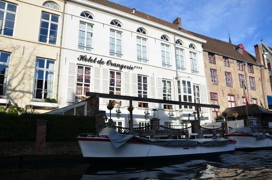 Hotel de Orangerie: View from the canal.