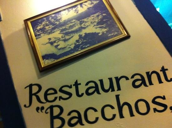 Restaurant Bacchos: the best