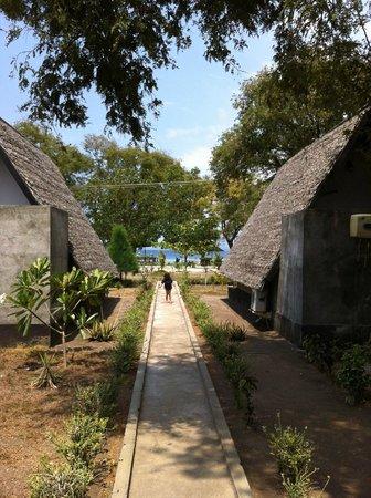 Kaluku Gili Resort: ocean view
