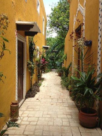 Casa Tía Micha: Hotel courtyard