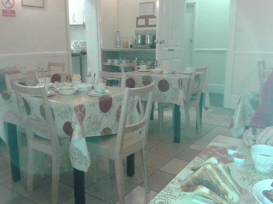 Chiswick Court Hotel: sala della colazione