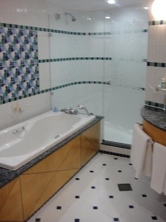 Jumeirah Beach Hotel: bathroom