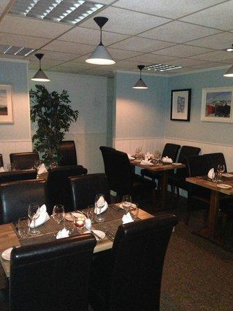 Jacques Seafood Restaurant: back room