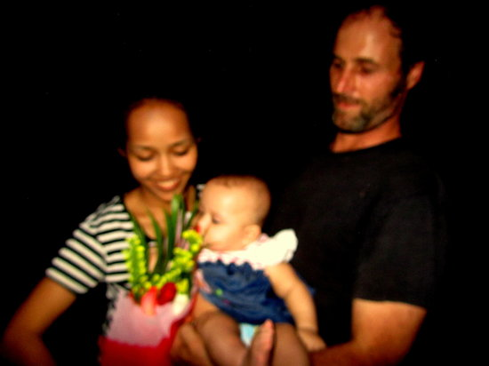Run Amok!: Chef Rich and Tettra with baby Jasmine