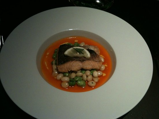Park Plaza Westminster Bridge London: Salmon From Joels Restaurant