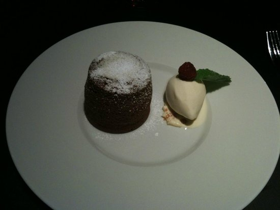 Park Plaza Westminster Bridge London: Chocolate Souffle From Joels Restaurant